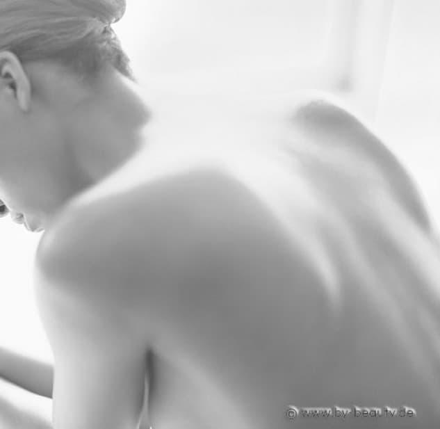 Hautreinigung am Rücken im Beauty-Studio Anita Ebner